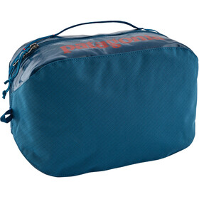 Patagonia Black Hole Cube Toiletry Bag Large balkan blue